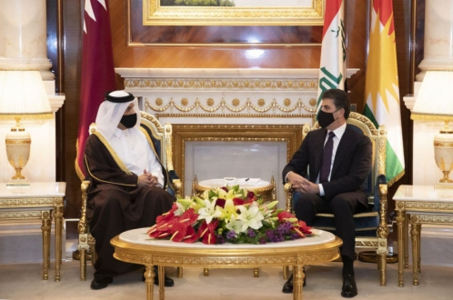 الرئيس نيجيرفان بارزاني يتلقى دعوة رسمية لزيارة قطر