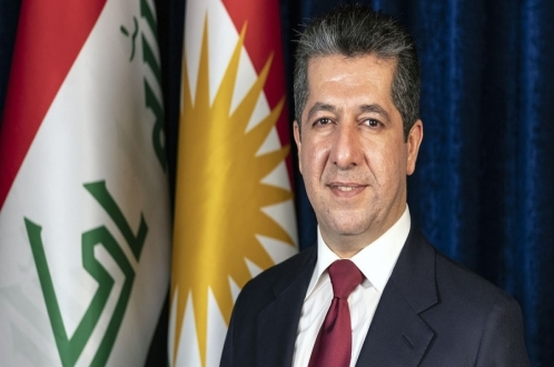 تهنئة رئيس حكومة إقليم كوردستان بمناسبة العام الميلادي الجديد