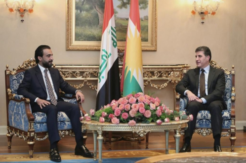 رئيس إقليم كوردستان ورئيس مجلس النواب العراقي يبحثان أوضاع العراق