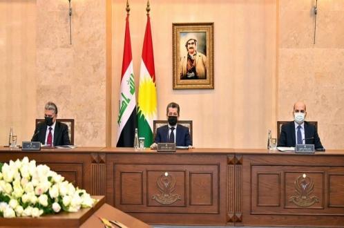 المجلس الاقتصادي الأعلى في إقليم كوردستان يناقش خطوات إعداد مشروع قانون موازنة الإقليم لسنة ٢٠٢١