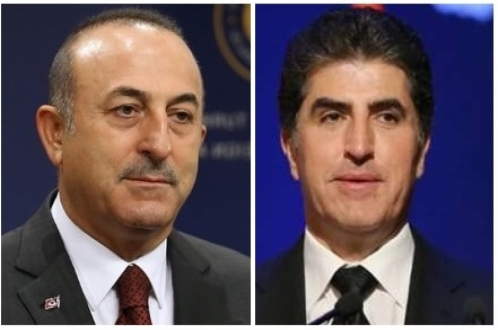 وزير خارجية تركيا يعزي رئيس إقليم كوردستان
