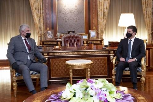 رئيس إقليم كوردستان وسفير روسيا يبحثان علاقات أربيل – موسكو