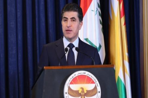 تهنئة رئيس إقليم كوردستان بمناسبة رأس السنة الجديدة