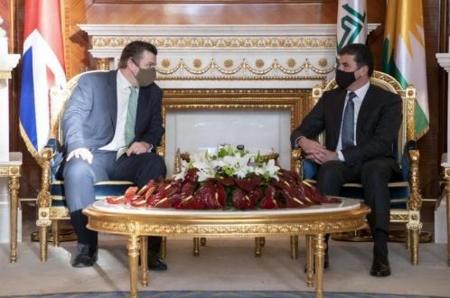 بريطانيا تؤكد استمرارها في دعم إقليم كوردستان
