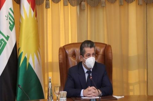 رئيس حكومة إقليم كوردستان يجتمع بالوفد الحكومي التفاوضي مع بغداد