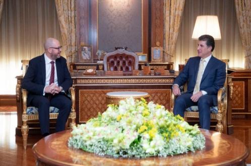 بريطانيا تؤكد مساندتها لإقليم كوردستان