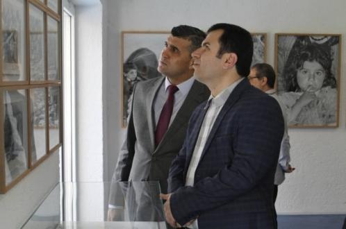 إفتتاح معرض التصوير (إقليم حيراني) بحضور ممثلي حکومة كردستان العراق