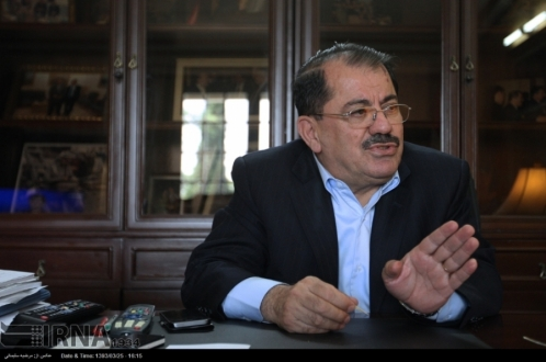 ممثل حكومة كوردستان في طهران يبرر القصف الإيراني على