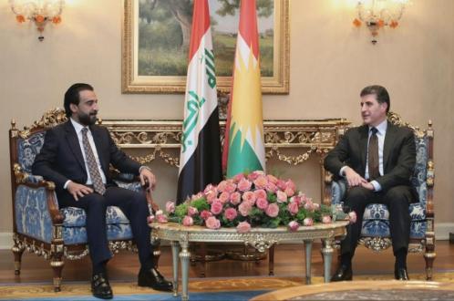 Kurdistan Region President meets with Iraq's Parliament Speaker
