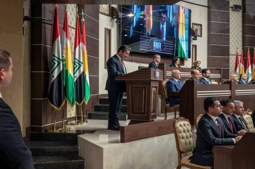 New KRG Prime Minister Promises to Strengthen the Region and Introduce Widespread Reforms following Inauguration