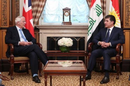 President Nechirvan Barzani expresses gratitude to Sir John Major