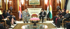 Prime Minister Barzani receives UK Minister of State for International Development