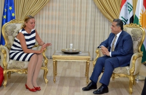 Outgoing EU Ambassador to Iraq bids farewell to Kurdistan Region