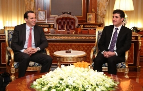 PM Barzani calls for further military assistance to Peshmerga Forces