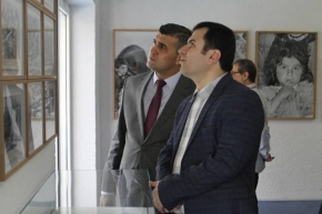 "Iraqi Kurdish envoy attend ""Climate of Wonder"" photo exhibition in Tehran"