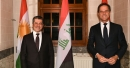 Prime Minister Masrour Barzani meets with Dutch Prime Minister Mark Rutte