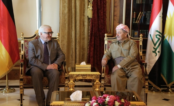 President Barzani Receives German Foreign Minister