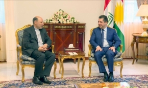 PM Barzani Receives New Iranian Consul General in Erbil