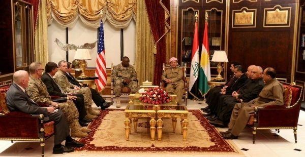 President Barzani Welcomes U.S. Delegation‏