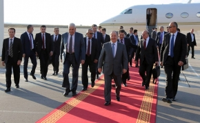 President Barzani Returns to Kurdistan