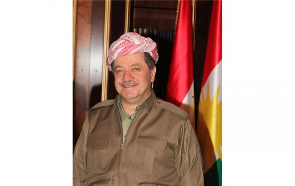President Barzani Conveys His Greetings to Christians‏