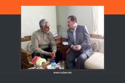 ناظم دباغ در مصاحبه با رووداو: هیچ نیرویی در کردستان وجود ندارد که دارای ارتباط نزدیک با حاج قاسم نبوده باشد