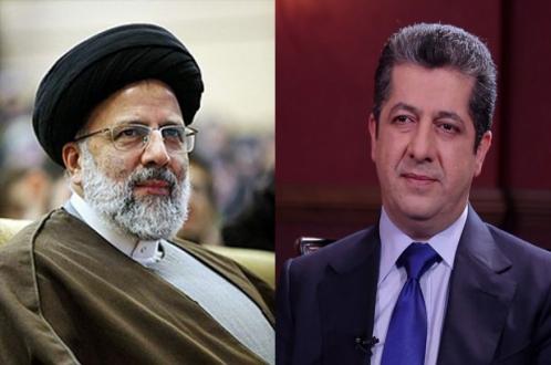 نخستوزیر اقلیم کردستان انتخاب ابراهیم رییسی بە ریاست جمهوری ایران را تبریک گفت
